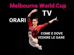 WorldCup Melbourne- ORARI e  DIRETTA