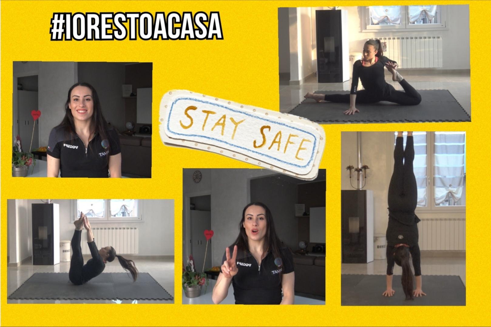 #iorestoacasa… Ma anche in forma! [VIDEO]